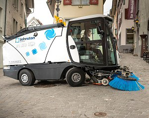 Compact Road Sweeper Hire UK
