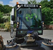 Pedestrian Sweeper Hire
